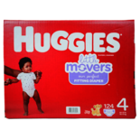 Huggies Little Movers Diapers Size 4 Mega Size
