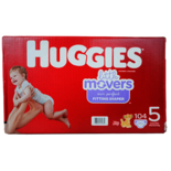 Huggies Little Movers Diapers Size 5 Mega Size