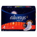 Always Pads Overnight With Flex-Wings