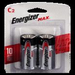 Energizer Max C-2Pk