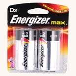 Energizer Alkaline D