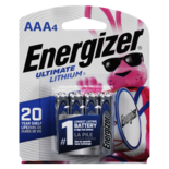Energizer Ultimate Lithium AAA4 Batteries