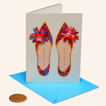 Papyrus Birthday Card Painterly Shoes