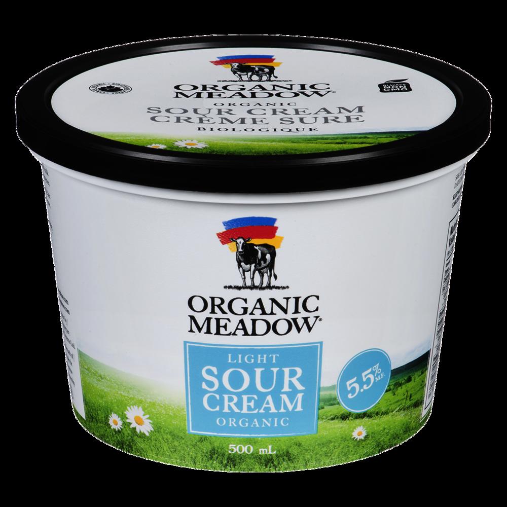 Organic Meadow 5.5% Light Sour Cream