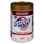 Resolve Oxi Action Stain Remover, Crystal White