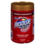 Resolve Oxi Action In Wash Colour Safe Fabric Stain Remover