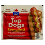Maple Leaf Top Dogs Chicken