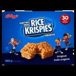 Kellogg's Rice Krispies Squares Bar Original 30 Count