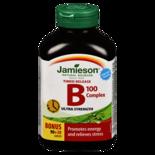 Jamieson Vitamin B Complex 100mg Timed Release