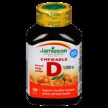 Jamieson Chewable Vitamin D 1000Iu