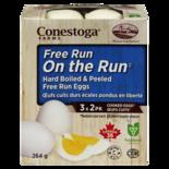 Conestoga Farms On The Run Free Run Hard Boiled Peeled Eggs
