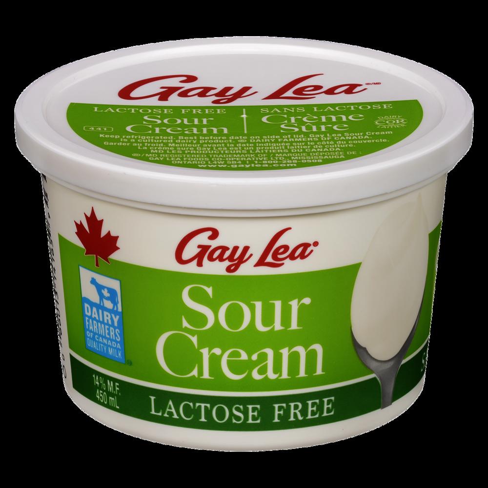 Gay Lea Lactose Free Sour Cream