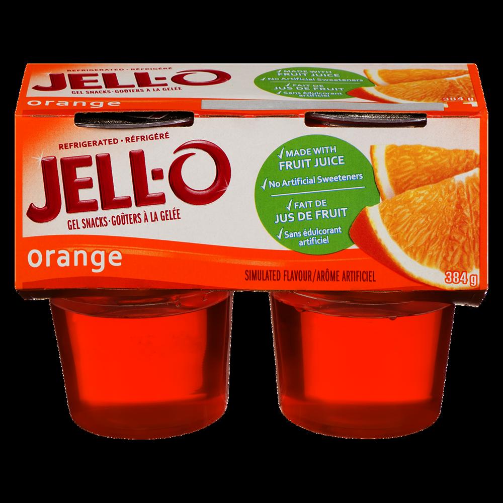 Jell-o Ready To Eat, Orange