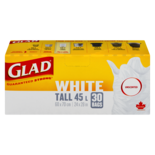 Glad Tall White Unscented Garbage Bags