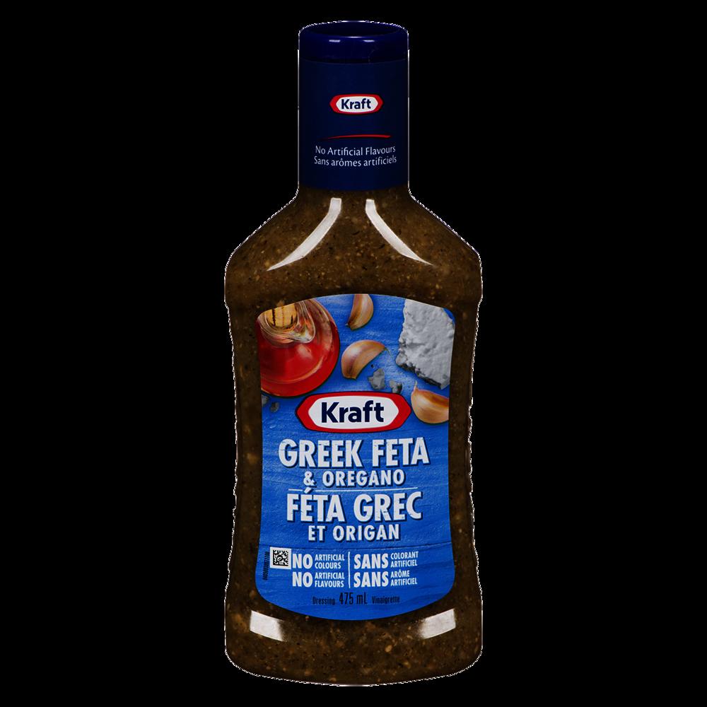 Kraft Greek Feta and Oregano Dressing