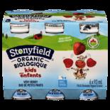 Stonyfield 1% Organic Kids Drinkable Yogurt, Very Berry