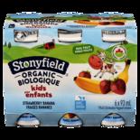Stonyfield 1% Organic Kids Drinkable Yogurt, Strawberry Banana