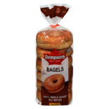 Dempster's® 100% Whole Wheat Bagels