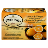 Twinings Herbal Lemon and Ginger Tea