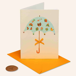 Papyrus Baby Shower Card Umbrella