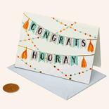 Papyrus Congratulations Card Congrats Banner