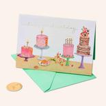 Papyrus Birthday Card Multicakes