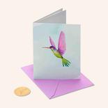 Papyrus Birthday Card Hummingbird