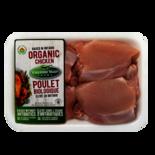 Yorkshire Valley Farms Organic Boneless Skinless Chicken Thighs