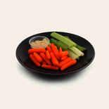 Longos Carrot and Celery with Hummus Dip