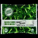 Green Organic Frozen Broccoli Florets