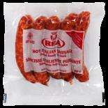 REA Hot Italian Sausage Frozen