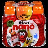 IOGO Nano 1% Lactose Free Strawberry Banana Drinkable Yogurt