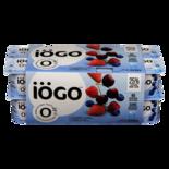 IOGO 0% Yogurt, Strawberry / Raspberry / Blueberry / Cherry