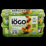 IOGO Probio 2.5% Yogurt, Strawberry/Blueberry/Raspberry/Peach-Mango