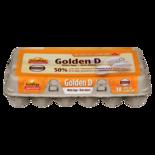 GoldEgg Large White Golden Eggs