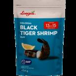 Longos Colossal Raw Black Tiger Shrimp (Frozen, 13-15 count, Easy Peel)