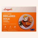 Longos Breaded Sole Tenders Uncooked Lemon Pepper