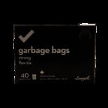 Longos Essentials Strong Garbage Bags Flex-Tie