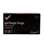 Longos Essentials Extra Strong Large Drawstring Garbage Bags