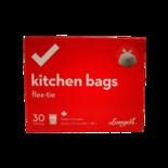 Longos Essentials Tall Kitchen Bags Flex Tie