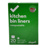 Longos Essentials Kitchen Bin Liners Compostable Small