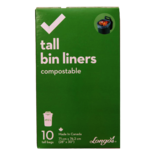 Longos Essentials Compostable Tall Bin Liners