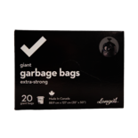 Longos Essentials Extra Strong Giant Garbage Bags