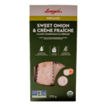 Longos Organic Sourdough Flatbreads Sweet Onion & Crème Fraiche