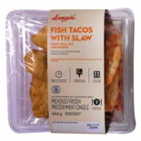 Longos Taco Meal Kit Uncooked, Fish Tacos with Slaw