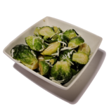 Longos Brussels Sprouts with Garlic and Parmesan Cheese