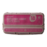 Longos Enriched Coop White Eggs Extra Large