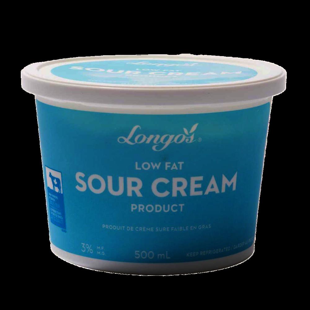 Longos 3% Low Fat Sour Cream