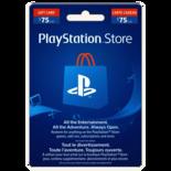 Sony Playstation Gift Card - $75