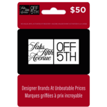 SAKS OFF THE 5TH GIFT CARD - $50